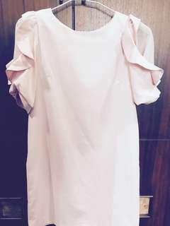 🚚 洋裝||甜美甜美的粉色洋裝