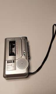SONY microcasette recorder