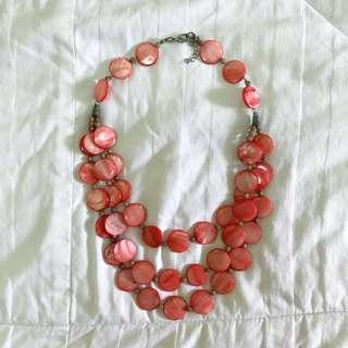 ⭐️Red Statement Necklace