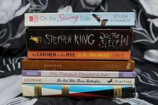 Pre-loved books for P50-P250