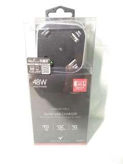 全新 牛魔王 Maxpower QD448PD PD / Quick Charge 3.0  4 位桌面 USB 充電器 順豐站自取 抽獎獎品 $150
