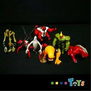 Ben 10 Figures *$6 for Each - Used Condition*