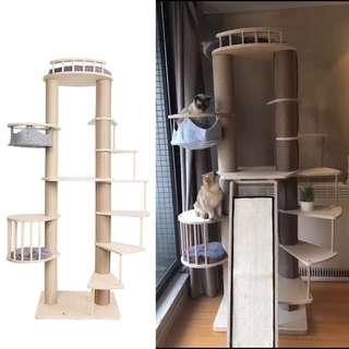 ultra premium cat condo tree, scratch toy, not carrier cage cushion bed food bowl litter tray