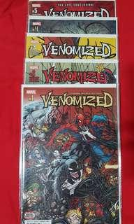 Venomized #1-5