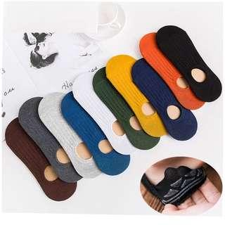 Many Colours* Low Cut Boat Socks Invisible