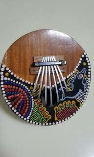 Coconut husk musical instrument- Kalimba Thumb Piano 7 keys