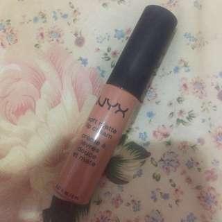 Nyx soft matte lip cream shade london