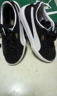PUMA Breaker Leather Black and White shoes