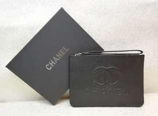 Brand new authentic Chanel wristlet