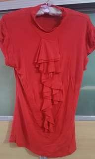 Red Lycra Tops