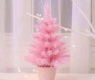 限量 訂造🎄2018 新款粉紅甜美 櫻花粉 聖誕樹 餐廳酒店家具 擺設 裝飾 禮物 PREORDER - Christmas Tree Pink Home Decoration Gift 45 cm  ( 一棵)