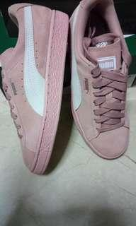 PUMA suede classic Women's Peach - Beige white shoes