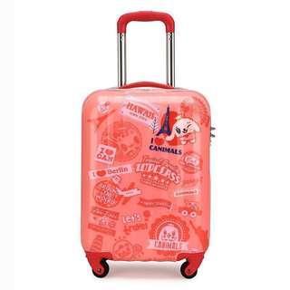 c4d80c94d ~BN~ Sammies By Samsonite Canimals S3 Spinner 50/18 Cabin Travel Luggage /