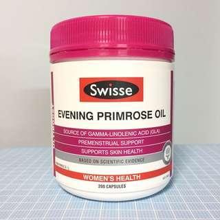 全新 澳洲 Swisse Evening Primrose Oil 月見草油膠囊(200粒)