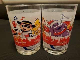 2001年可口可樂 x 麥當奴玻璃杯