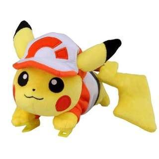 Takara Tomy Katanori Let's Go Pikachu Eevee Pikabui Hat Pikachu / Eevee Shoulder Clip Plush (Pre-Order)