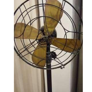 Rare antique early 1900s floor standing fan