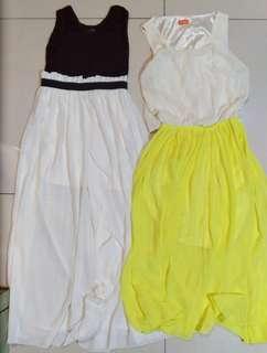Bundle- Long Flowy Dress