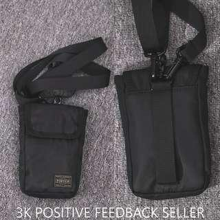 Porter Sling Pouch Waist Black Tactical Bag (Thick Material)  Good Quality