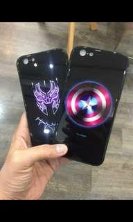 Iphone MARVEL Glass Casings