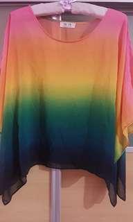 Batwing Rainbow Tops
