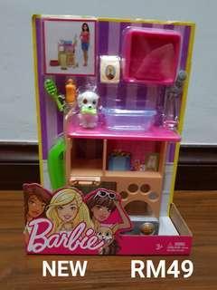 Barbie Puppy Set
