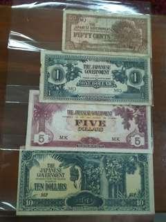 MALAYA JIM Banknotes Assorted