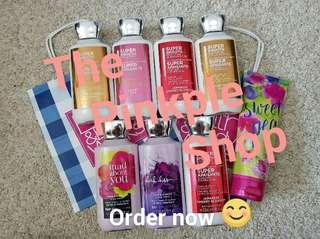 Bath and Body Works Lotion (SALE with Freebies)