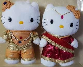 Hello Kitty Indian Soft Toy Couple