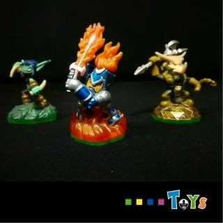Activision Skylanders Figurines *A Set of 7 Figurines - Used Condition*