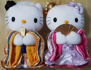 Hello Kitty Korean Soft Toy Couple