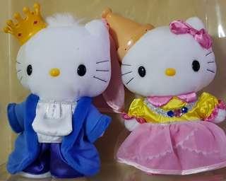Hello Kitty Royal Soft Toy Couple