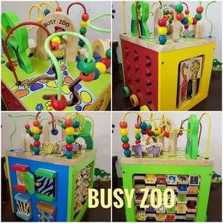 Busy Zoo Professional Learning Cube