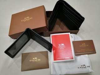 Coach Signature Crossgrain Leather