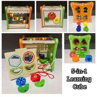 5-in-1 Learning Cube