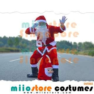 RENT Santa Claus Costumes Merry Christmas Party Event