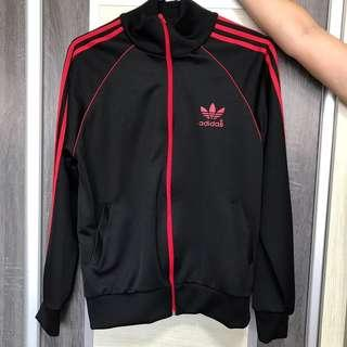 Adidas Jacket Red Stripe