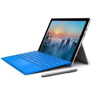 Surface Pro 4 tablet laptop
