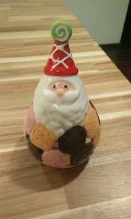 Santa Tealight holder