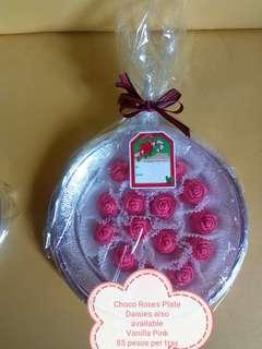 Made to Order Choco Roses Platter