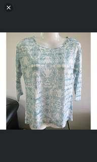 DOROTHY PERKINS Knitted Printed Top