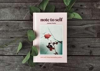 Ebook : Note to Self by Connor Franta