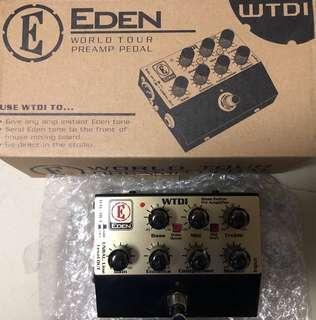 EDEN - Preamp Pedal