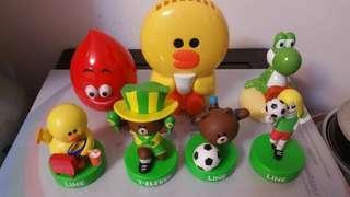 各式玩具赠品ㄧ堆