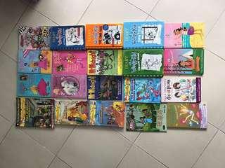 Geronimo Stilton wimpy kid and Assorted book