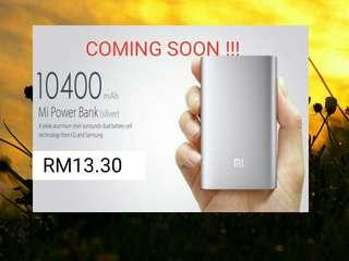 Xiaomi Powerbank 10400mAh !!