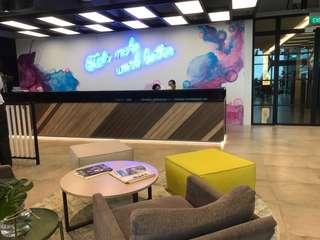♥️UNIQUE & MODERNISTIC♥️ CHARMINGLY FITTED SERVICED OFFICE IN UIC BUILDING. MUST VIEW, CALL NOW!