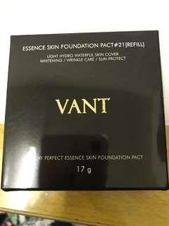 VANT36.5粉凝霜 補充包17g ESSENCE SKIN FOUNDATION PACT