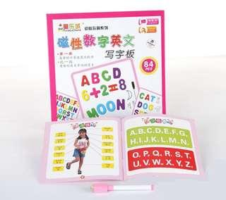 Magnetic Number and Alphabets Board