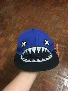 Blue Cartoon Cap